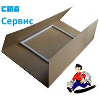 Уплотнитель двери Холодильника BEKO 4546863200 ORIGINAL ( М/К 520 x 650 mm )