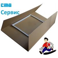 Уплотнитель двери Холодильника ATLANT 769748901510 ( М/К 556 x 405 mm )