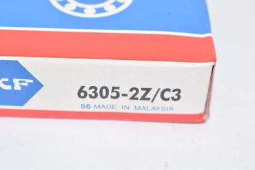 Подшипник 6305 2z ( 25x62x17 ) SKF MALAYSIA