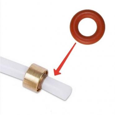 Уплотнитель тефлоновой трубки Кофемашины DELONGHI ES0061701 ( 3,4х1,9 mm. )