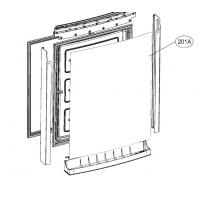 Дверь морозильной камеры в сборе Холодильника LG ADD73257102