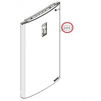 Дверь холодильной камеры в сборе Холодильника LG ADD73716407