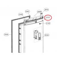Дверь холодильной камеры в сборе Холодильника LG ADD73878119