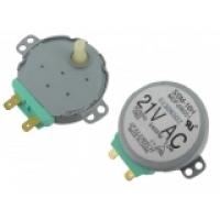 Мотор привода тарелки СВЧ-печи SAMSUNG DE31-10154D ( 21 V, M2HJ49ZR02 )